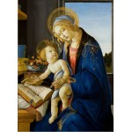 Puzzle  Grafika-Kids-00696 Sandro Botticelli: La Madone du Livre, 1480