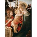 Puzzle  Grafika-Kids-00705 Pièces Magnétiques - Sandro Botticelli: La Vierge à l'Enfant, le Jeune Saint Jean-Baptiste, 1470-147