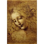 Puzzle  Grafika-Kids-00715 Pièces XXL - Léonard de Vinci : Visage de Giovane Fanciulla, 1508