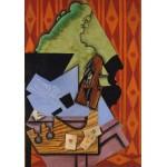 Puzzle  Grafika-Kids-00717 Juan Gris: Violon et Cartes à Jouer sur une Table, 1913