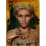 Puzzle  Grafika-Kids-00720 Femme Africaine