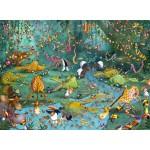 Puzzle  Grafika-Kids-00801 François Ruyer : La Jungle