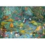 Puzzle  Grafika-Kids-00805 Pièces magnétiques - François Ruyer : La Jungle