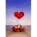 Puzzle  Grafika-Kids-00836 Pièces XXL - François Ruyer: Love
