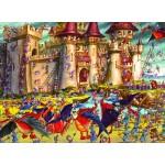 Puzzle  Grafika-Kids-00849 François Ruyer : Siège du Château Fort