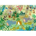 Puzzle  Grafika-Kids-00876 François Ruyer : Jungle