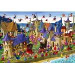 Puzzle  Grafika-Kids-00883 Pièces XXL - François Ruyer: Sorcières