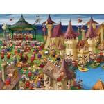 Puzzle  Grafika-Kids-00889 François Ruyer: Sorcières