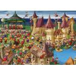 Puzzle  Grafika-Kids-00892 Pièces magnétiques - François Ruyer: Sorcières