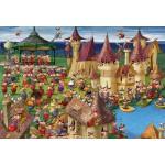 Puzzle  Grafika-Kids-00893 Pièces XXL - François Ruyer: Sorcières