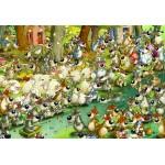 Puzzle  Grafika-Kids-00918 Pièces XXL - François Ruyer: Loups !