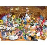 Puzzle  Grafika-Kids-00919 François Ruyer: Restaurant des Dragons