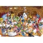 Puzzle  Grafika-Kids-00921 François Ruyer: Restaurant des Dragons