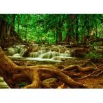 Puzzle  Grafika-Kids-00925 Cascade dans la Forêt