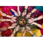 Puzzle  Grafika-Kids-00977 Pièces magnétiques - Femmes Indiennes