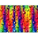 Puzzle  Grafika-Kids-01097 Pièces magnétiques - Bulles Multicolores