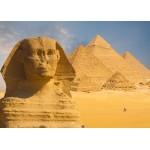 Puzzle  Grafika-Kids-01141 Sphinx et Pyramides de Gizeh