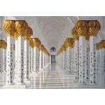 Puzzle  Grafika-Kids-01143 Mosquée Cheikh Zayed, Abou Dabi, Emirats Arabes Unis