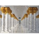 Puzzle  Grafika-Kids-01144 Pièces magnétiques - Mosquée Cheikh Zayed, Abou Dabi, Emirats Arabes Unis