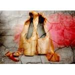Puzzle  Grafika-Kids-01159 Pièces magnétiques - Vintage Dancing Shoes