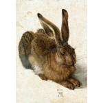 Puzzle  Grafika-Kids-01256 Albrecht Dürer - Le Lapin, 1502