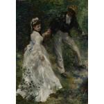 Puzzle  Grafika-Kids-01391 Pierre-Auguste Renoir : La Promenade, 1870