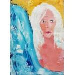 Puzzle  Grafika-Kids-01413 Pièces magnétiques - La Jeune Femme aux Cheveux Blancs
