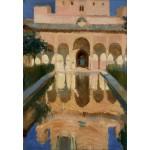 Puzzle  Grafika-Kids-01420 Joaquin Sorolla y Bastida : Hall des Ambassadeurs, Alhambra, Grenade, 1909