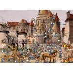 Puzzle  Grafika-Kids-01447 François Ruyer - Attaque du Château