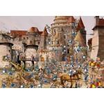 Puzzle  Grafika-Kids-01448 François Ruyer - Attaque du Château