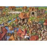 Puzzle  Grafika-Kids-01455 François Ruyer - Lapins !