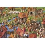 Puzzle  Grafika-Kids-01456 François Ruyer - Lapins !