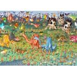 Puzzle  Grafika-Kids-01470 François Ruyer - Dinosaures