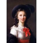 Puzzle  Grafika-Kids-01479 Louise-Élisabeth Vigee le Brun : autoportrait, 1781