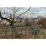 Puzzle   Camille Pissarro : La Barrière, 1872