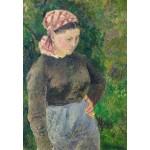 Puzzle   Camille Pissarro : Paysanne, 1880