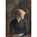 Puzzle   Henri de Toulouse-Lautrec : Carmen Gaudin, 1885
