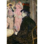 Puzzle   Henri de Toulouse-Lautrec : Maxime Dethomas, 1896