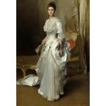 Puzzle   John Singer Sargent : Margaret Stuyvesant Rutherfurd White (Mrs. Henry White), 1883