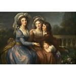 Puzzle   Louise-Élisabeth Vigee le Brun : La Marquise de Pezay et la Marquise de Rougé avec ses fils Alexis e