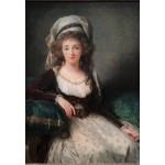 Puzzle   Louise-Élisabeth Vigee le Brun : Madame d'Aguesseau de Fresnes, 1789
