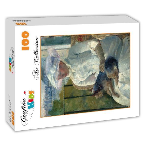 Puzzle mary cassatt jeune fille la fen tre 1883 1884 for Fille a la fenetre
