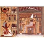 Puzzle  Grafika-00046 Le Livre des Morts : Ani dans l'au-delà devant Osiris