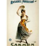 Puzzle  Grafika-00080 Affiche pour une Mise en Scène Américaine de la Carmen de Bize, 1896