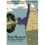 Puzzle  Grafika-00091 Affiche pour le Monument National de Fort Marion, 1938