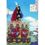 Puzzle  Grafika-00140 Estampe Japonaise, Tsukioka Yoshitoshi, XIXe Siècle
