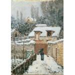 Puzzle  Grafika-00179 Alfred Sisley : La neige à Louveciennes, 1878