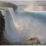 Puzzle  Grafika-00237 Frederic Edwin Church : Les Chutes du Niagara - Côté Américain, 1867
