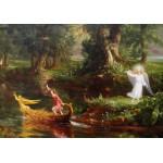 Puzzle  Grafika-00242 Thomas Cole : Le voyage de la Vie - Jeunesse, 1842