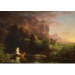 Puzzle  Grafika-00243 Thomas Cole : Le voyage de la Vie - L'enfance, 1842